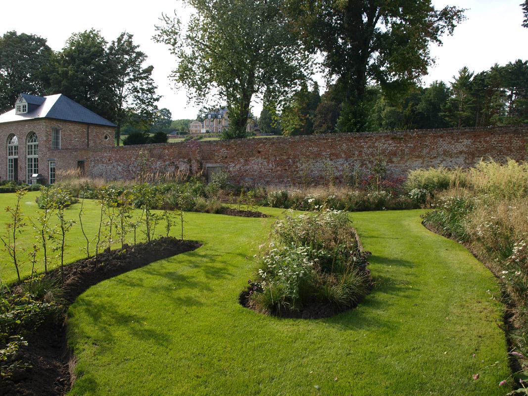 Portfolio grez doiceau gregory le grelle architecte for Architecte de jardin belgique